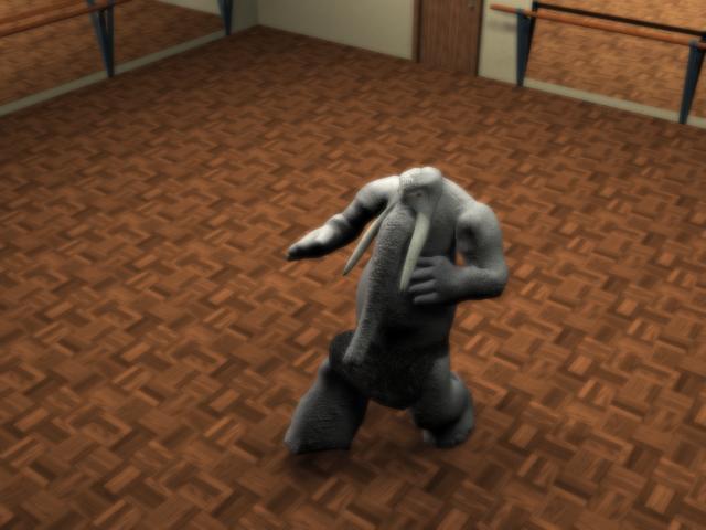 Dancing Elephant Animation