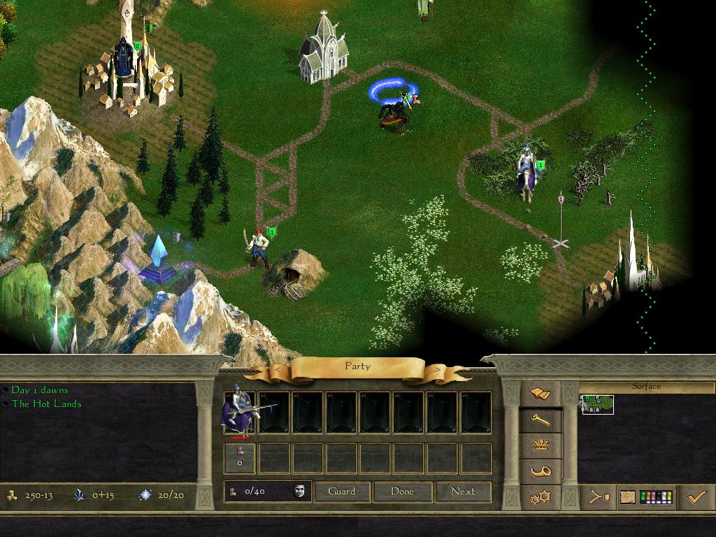 Age of Wonders 2 Screen shot
